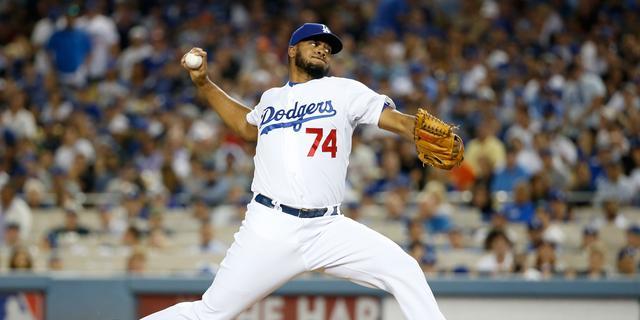 Kenley Jansen uitgeschakeld met Los Angeles Dodgers
