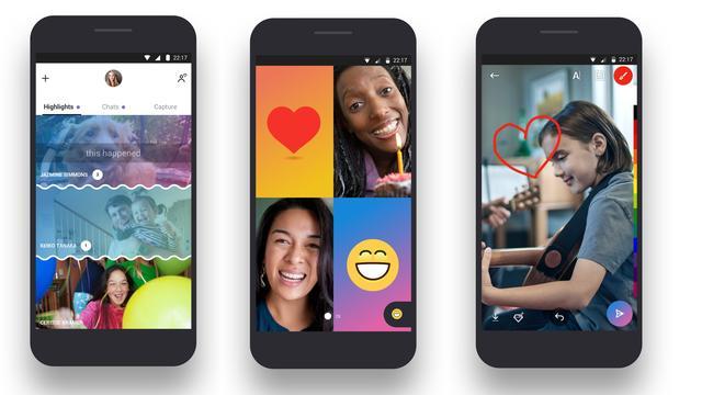 Skype beconcurreert WhatsApp en Snapchat met nieuwe mobiele app