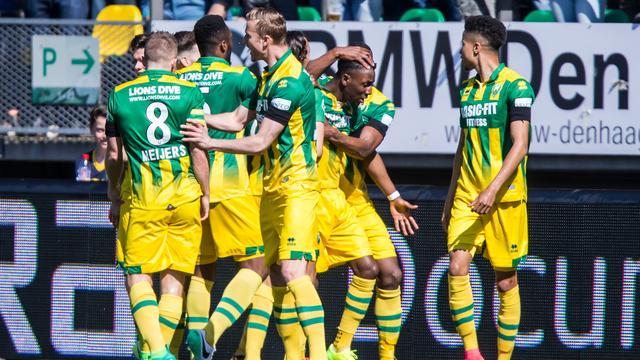 Ruime zege ADO op Roda JC, Vitesse klopt NEC in Gelderse derby