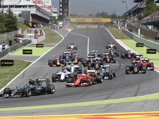 In zes gevallen zit er maar één week tussen twee Grands Prix
