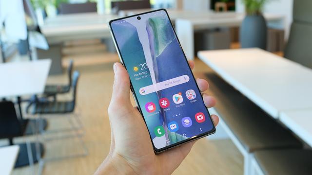 Eerste indruk: Galaxy Note 20 brengt kleine verbeteringen in topserie