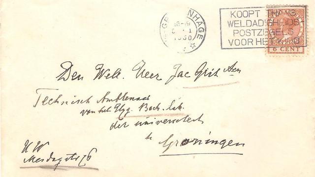 Brief van weduwe Multatuli overhandigd aan museum