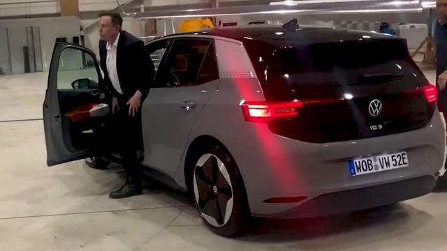Tesla-topman Elon Musk testte elektrische Volkswagen