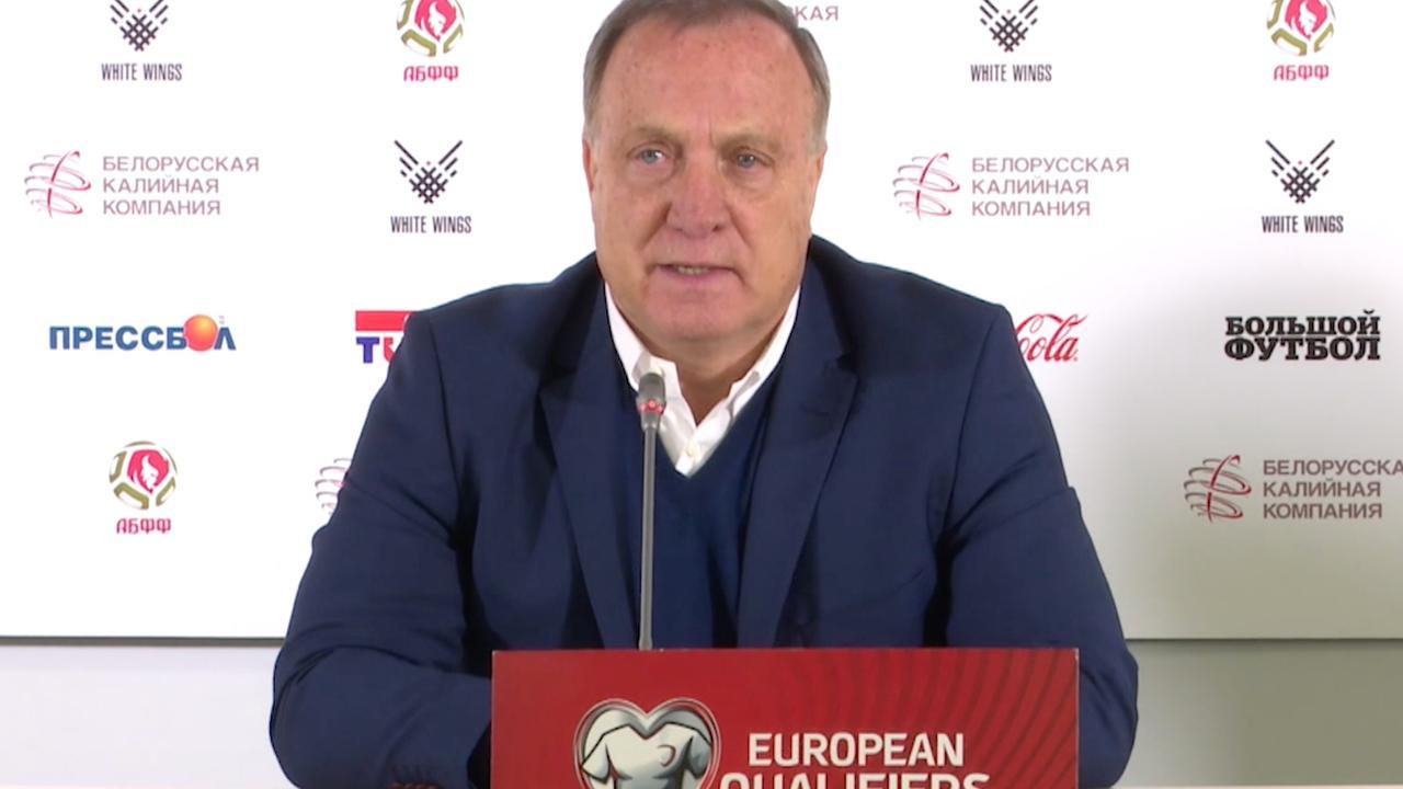 Advocaat vindt 8-0 van Zweden tegen Luxemburg een 'vreemde uitslag'