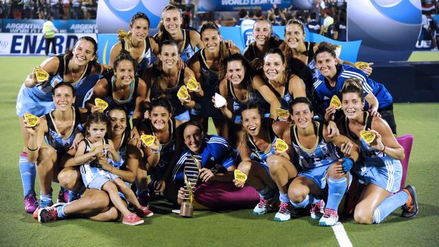 Argentijnse hockeysters winnen World League