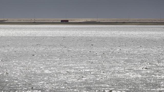 Groot kunstwerk in aanbouw op Maasvlakte II