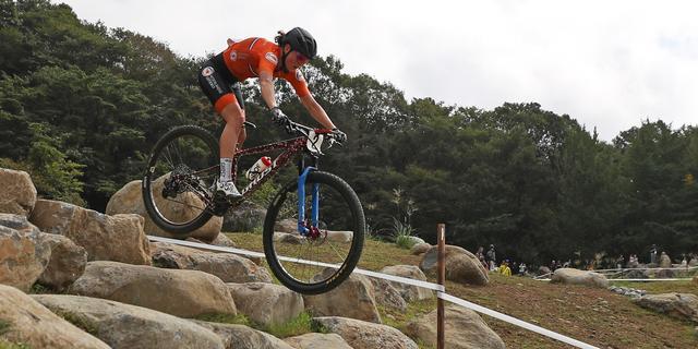 Mountainbikers Terpstra en Tauber grijpen naast medaille, Zwitsers podium