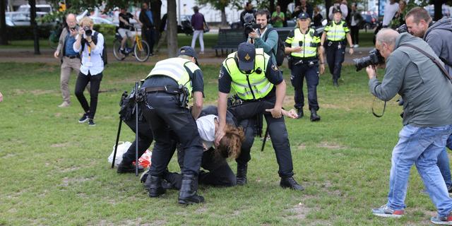 Den Haag vaardigt noodbevel uit voor Malieveld, meerdere aanhoudingen