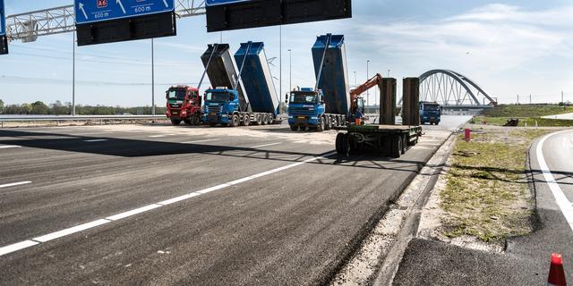 Rijkswaterstaat waarschuwt voor nieuwe wegindeling A1 en A6