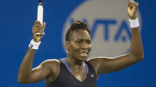 Venus Williams na thriller in finale Wuhan
