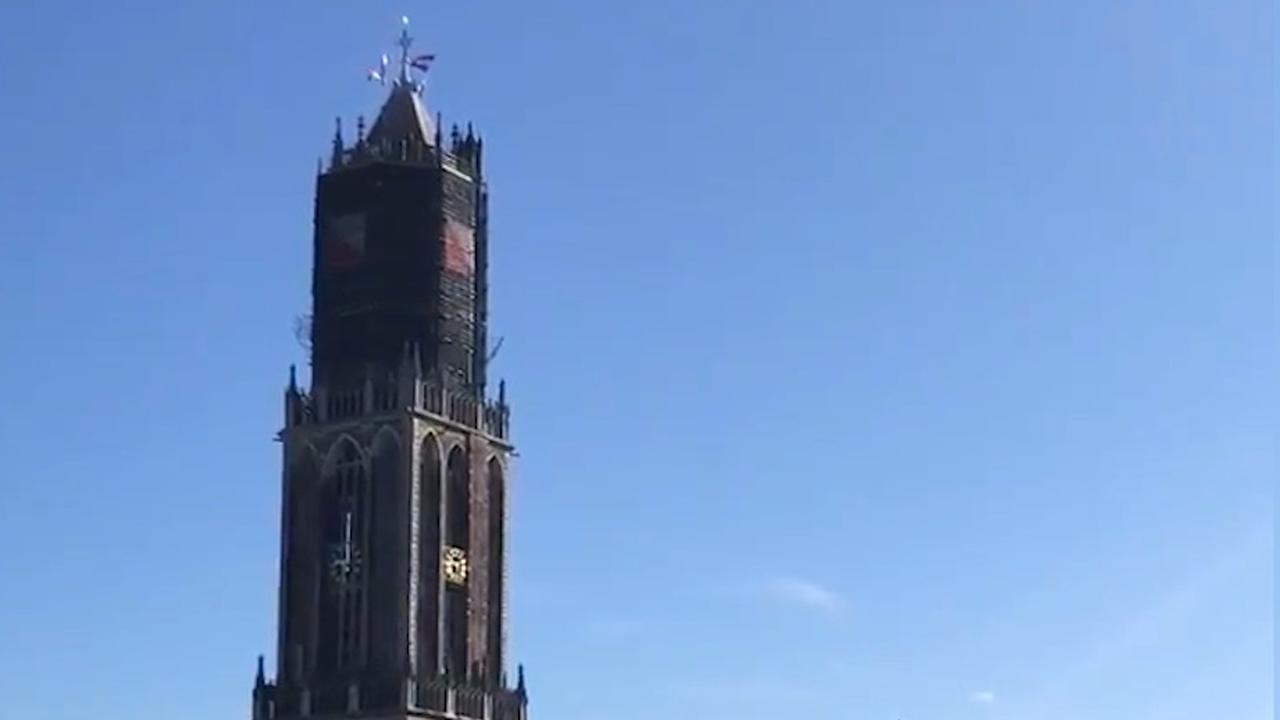 Domtoren Utrecht speelt Soldaat van Oranje