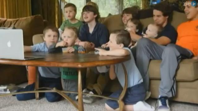 Amerikaans stel krijgt dertiende zoon op rij
