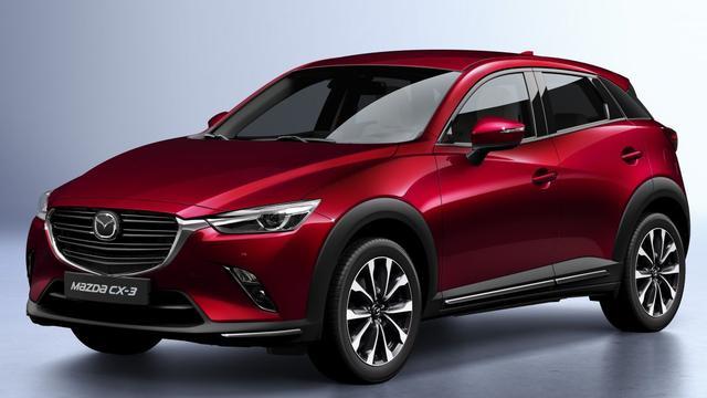 Technische update en uiterlijke wijzigingen voor Mazda CX-3