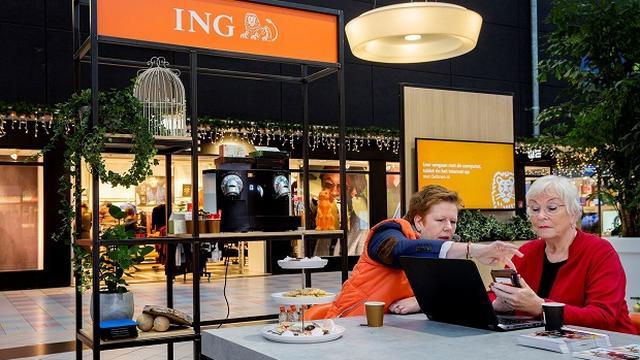 ING sluit in nieuwe jaar 40 procent van servicebalies