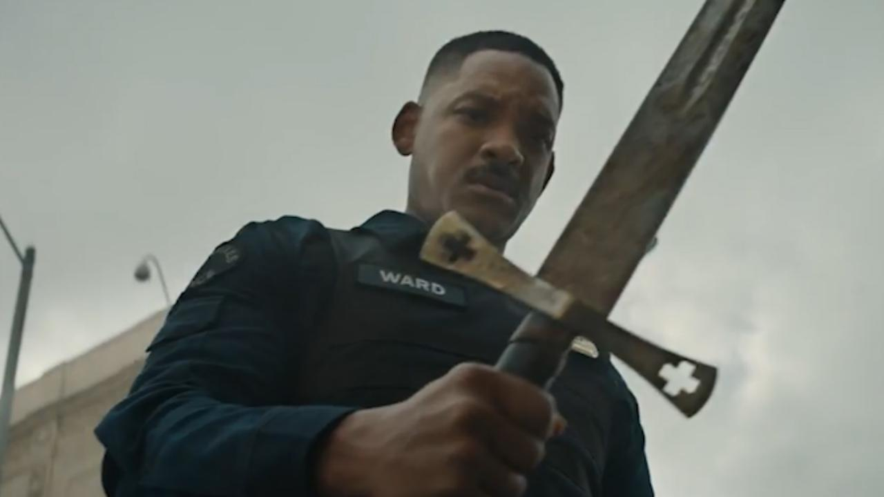 Politieagent Will Smith neemt het op tegen superkrachten in trailer Bright