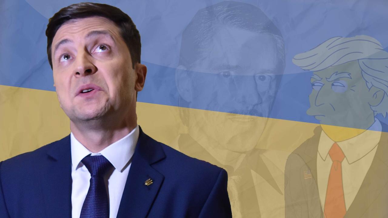 Hoe een komiek mogelijk president wordt in Oekraïne