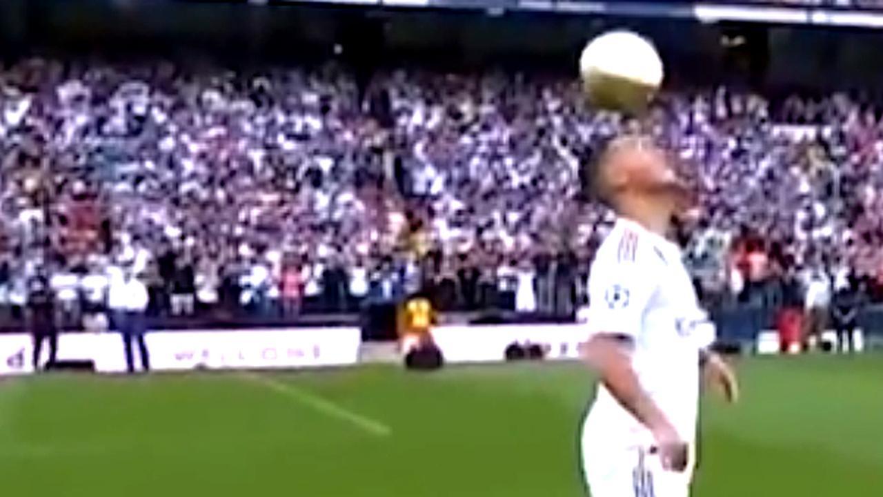 Eden Hazard houdt hoog voor 50.000 Real Madrid-fans