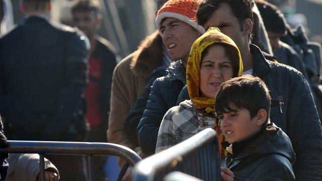 Ook eind van jaar duizenden vluchtelingen via Balkanroute