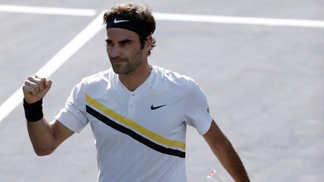 Federer heeft geen kind aan Krajinovic en staat in vierde ronde Indian Wells