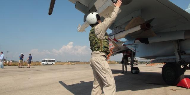 'Rusland reduceert militaire aanwezigheid in Syrië snel'