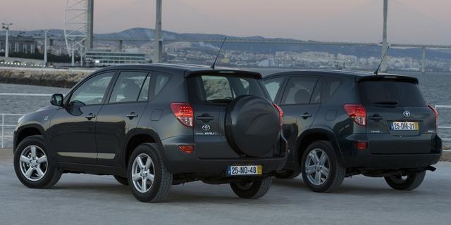 SUV's met vierwielaandrijving voor minder dan 10.000 euro