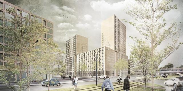 Bouw 'Little Manhattan' van start in Nieuw-West
