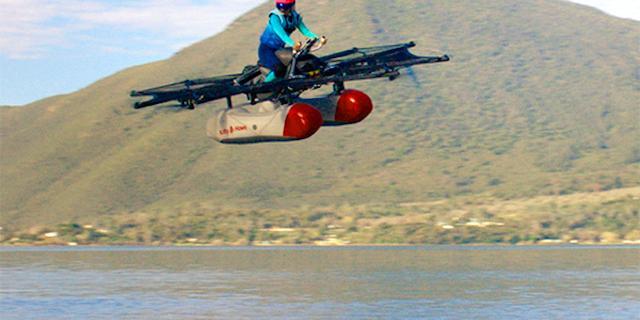 Vliegende auto van Google-oprichter eind dit jaar verkrijgbaar