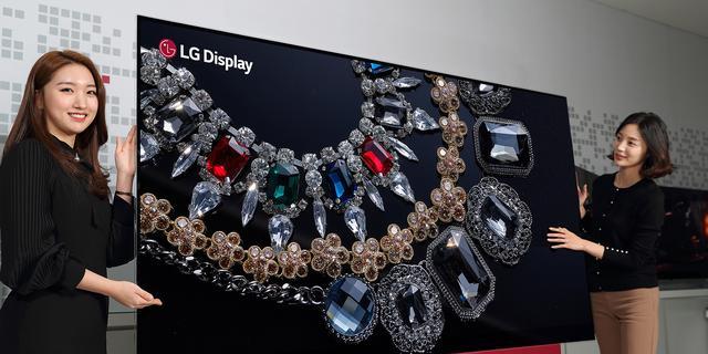 LG presenteert grootste 8K OLED-televisie tot nu toe