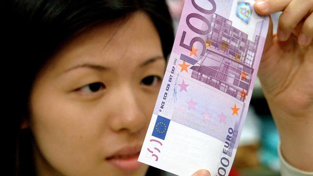 ECB-kopstuk rekent op einde 500 eurobiljet
