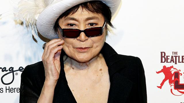 Yoko Ono krijgt inspiratieprijs op NME Awards