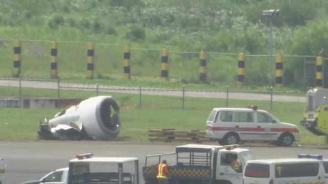 Chinese Boeing verliest motor bij mislukte landing in Manilla