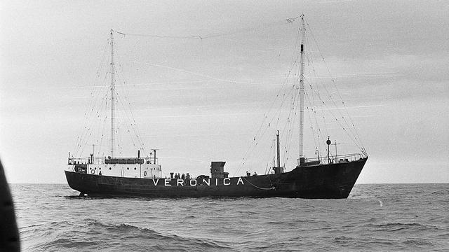 Radio Veronica zond uit op zee van 1960 tot 1974. (Foto: WikiCommons)