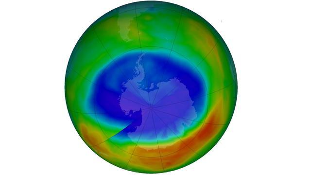 Gat in ozonlaag dit jaar veel kleiner dan in 2016