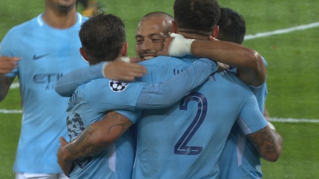 Aguero verdubbelt voorsprong City tegen Feyenoord