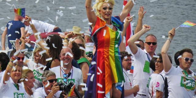 Bewoners binnenstad in beraad met Van der Laan over Gay Pride