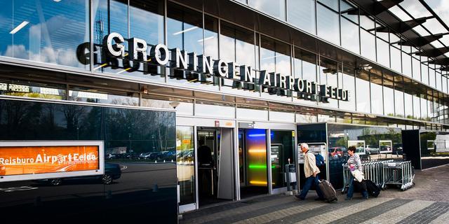 Aantal passagiers hardst gegroeid bij Groningen Airport Eelde
