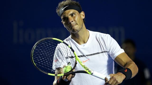Nadal loopt verrassend derde titel mis in Acapulco