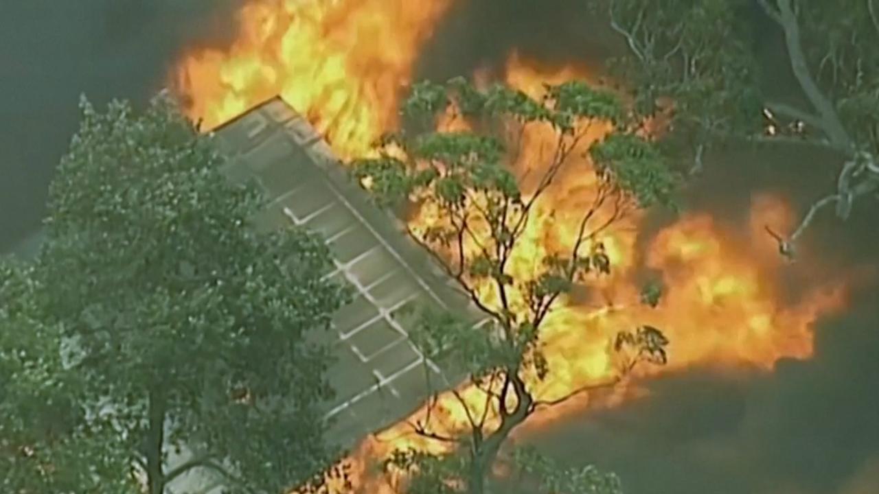 Huis in Australië gaat in vlammen op