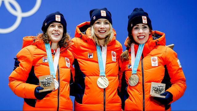 Nederland vertrekt met twintig olympische medailles uit Zuid-Korea