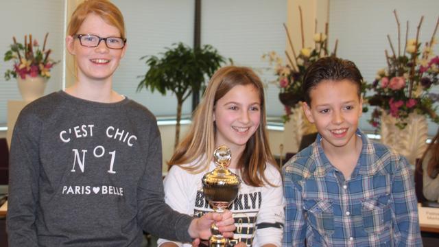 Groen van Prinsterer wint eerste debatronde kinderraadsvergadering Steenbergen