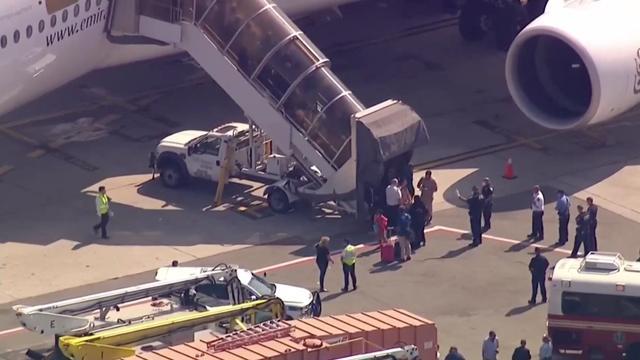 Alle passagiers uit onder quarantaine geplaatst vliegtuig New York