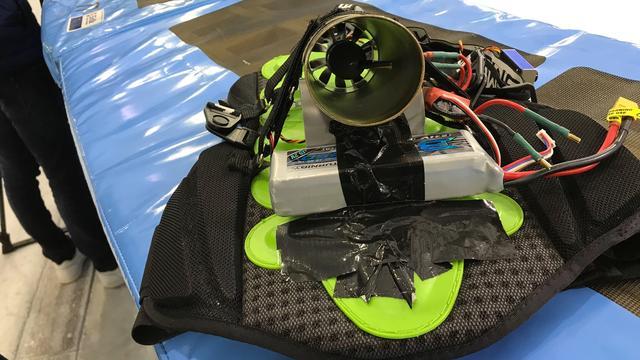 'Raketmotortje' en bladblazer moeten shorttrackers helpen bij trainingen