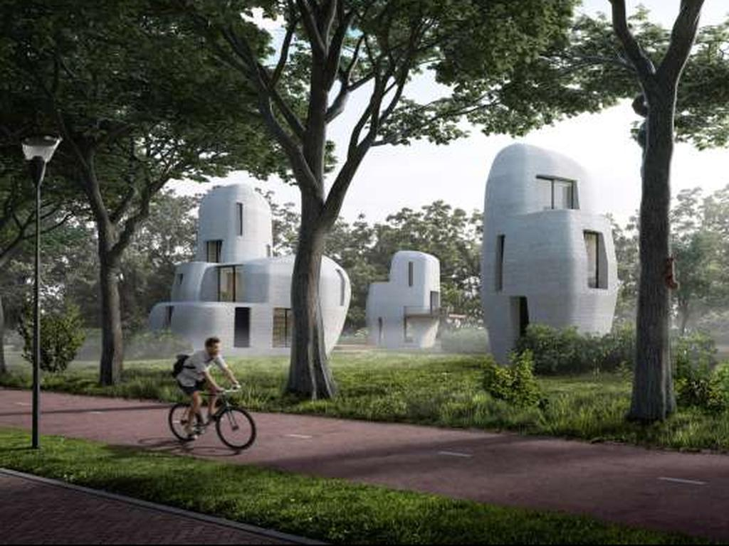 Zijn door een 3D-printer gemaakte gebouwen de toekomst?