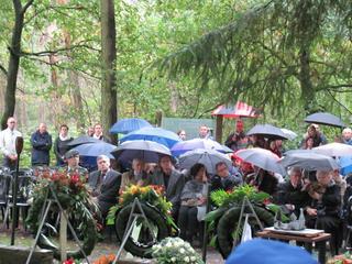 Veel mensen aanwezig op Vloeiweide
