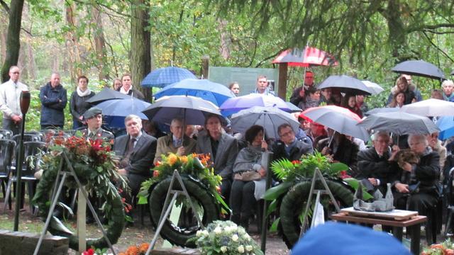 Herdenking Tweede Wereldoorlog in Rijsbergen
