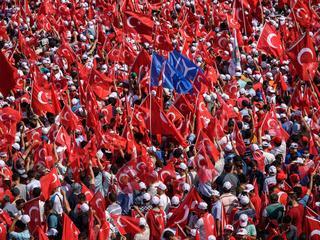 Onrust Turkije