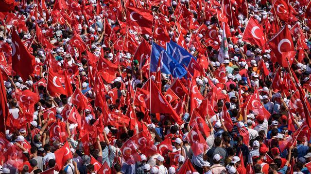 Turkije veroordeelt 72 mensen tot levenslang in nasleep couppoging