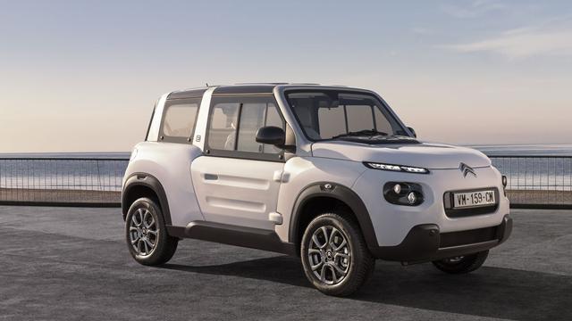 Update voor elektrische Citroën E-Mehari | NU - Het laatste nieuws ...