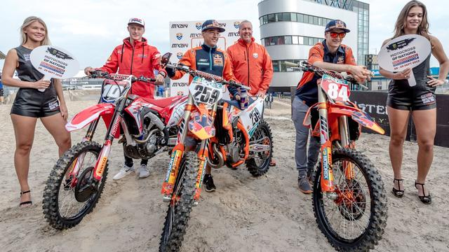 Nederland na diskwalificatie Italië alsnog tweede in Motocross of Nations