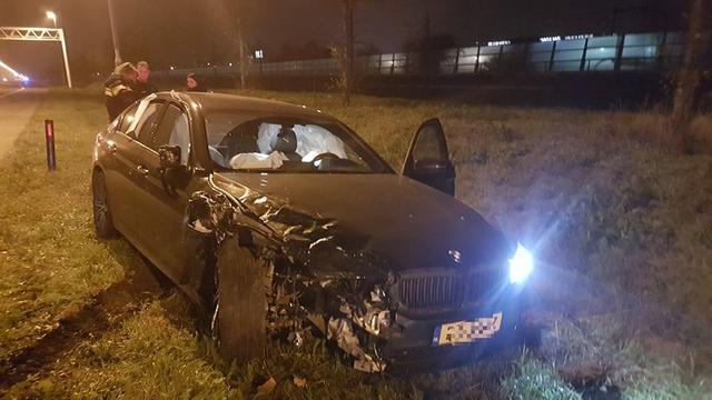 Meerdere gewonden bij nachtelijk ongeval Prinsenbeek
